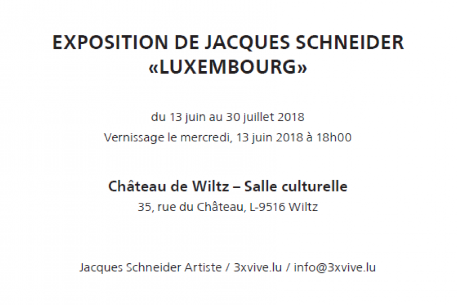 invitation jacques schneider texte