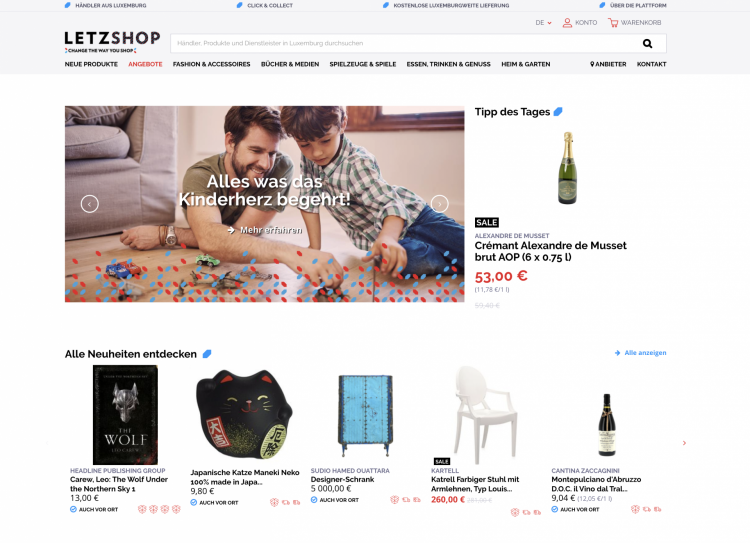 letzshop screenshot