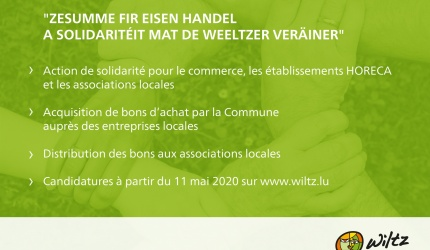 action de solidarite commerce